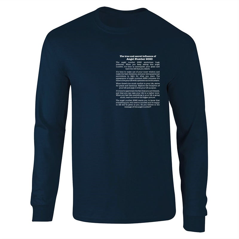 Image of Angel 'The Meaning Of' Navy Sweatshirt