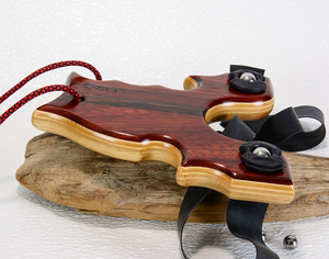 Image of Sling Shot made of Exotic Wood of Paduk, Bocote and Ash,  The Renegade, Custom Wooden Catapult
