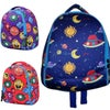 Neoprene backpack - Monsters and planets