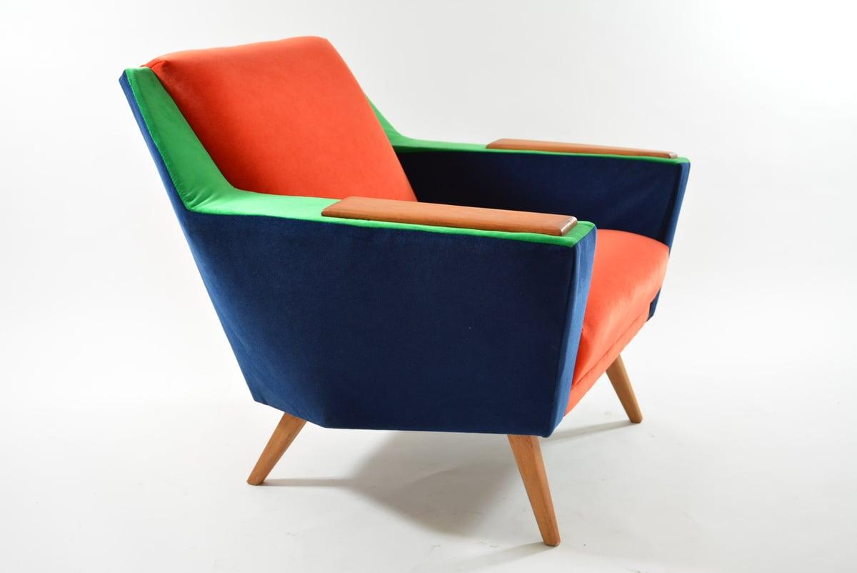 Image of Fauteuil tricolore POP