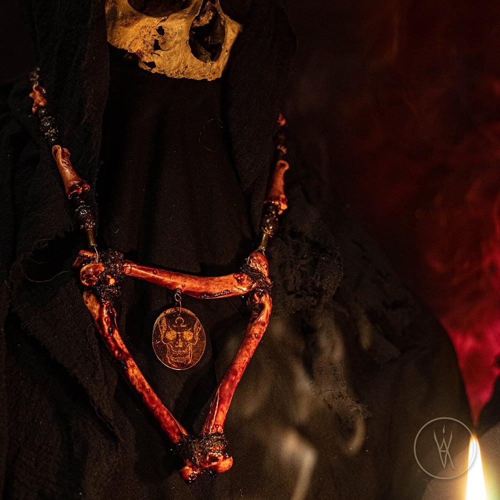 Image of ⋮ Bloodpröphet ⋮ Bone Necklace