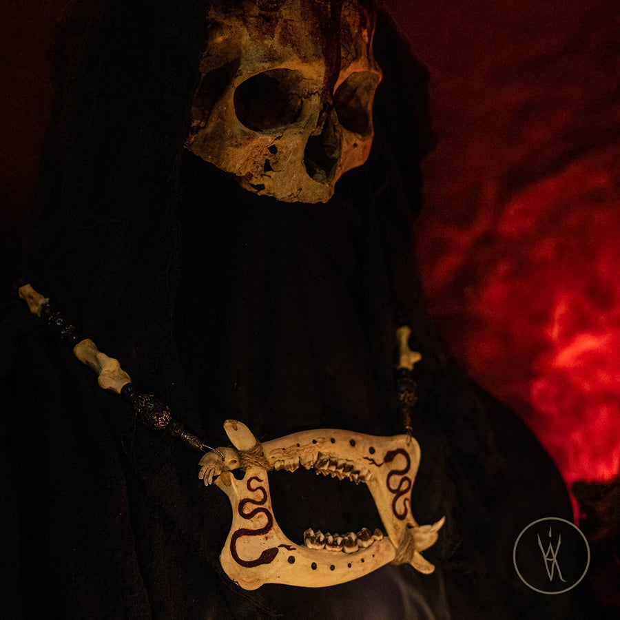 Image of ⋮ Blasphemer ⋮ Bone Necklace