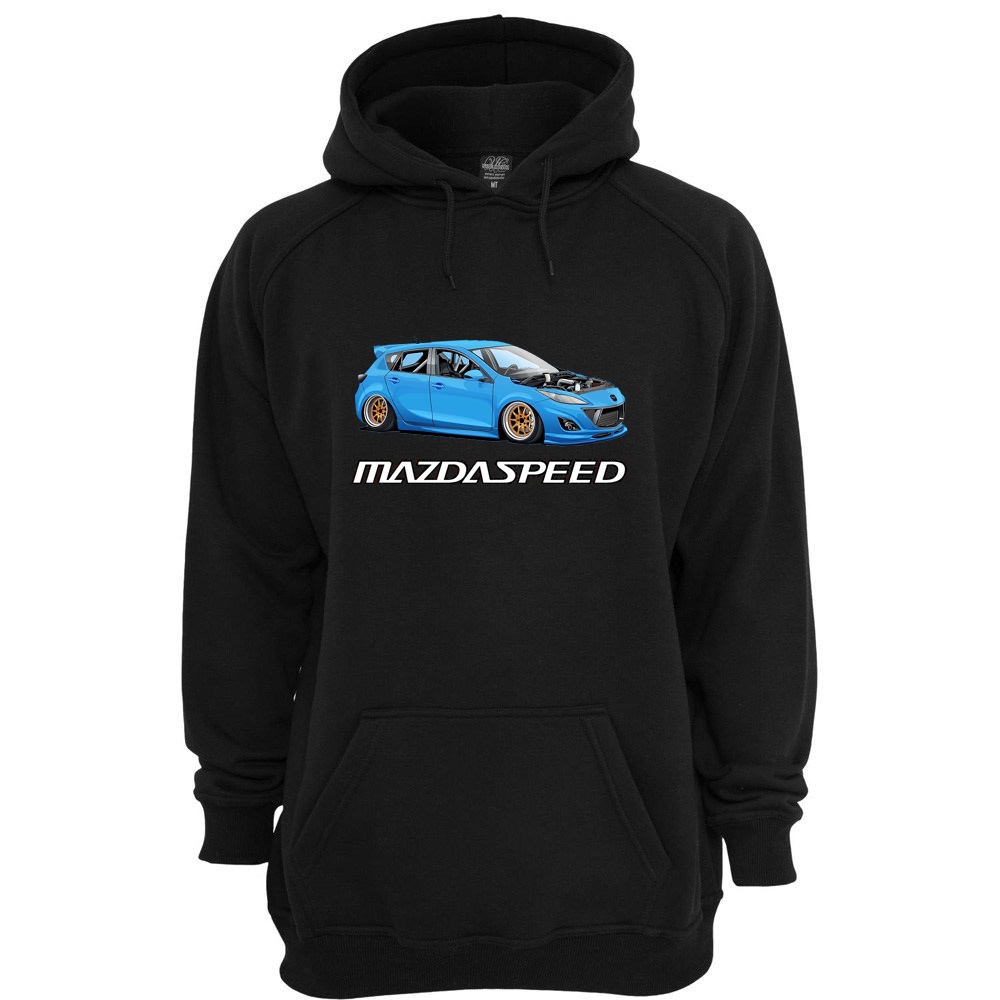 Image of MAZDASPEED 3 (GEN 2) HOODIE (PRE-ORDER) SHIPS OUT MAR 31, 2020