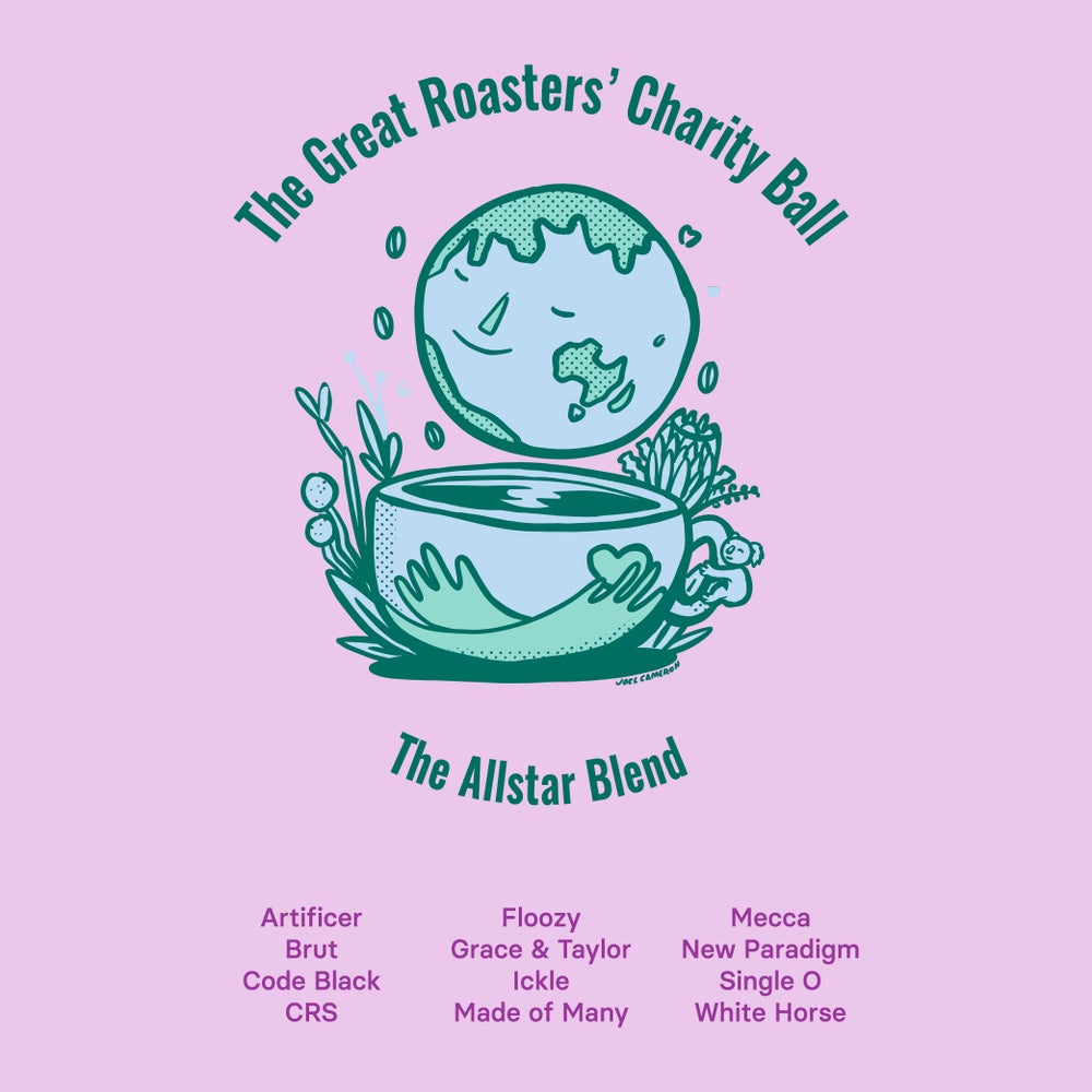 Image of The Great Roasters' Charity Ball Coffee - 1kg ALLSTAR BLEND