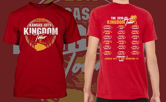 Image of Kansas City Kingdom Tour Shirt