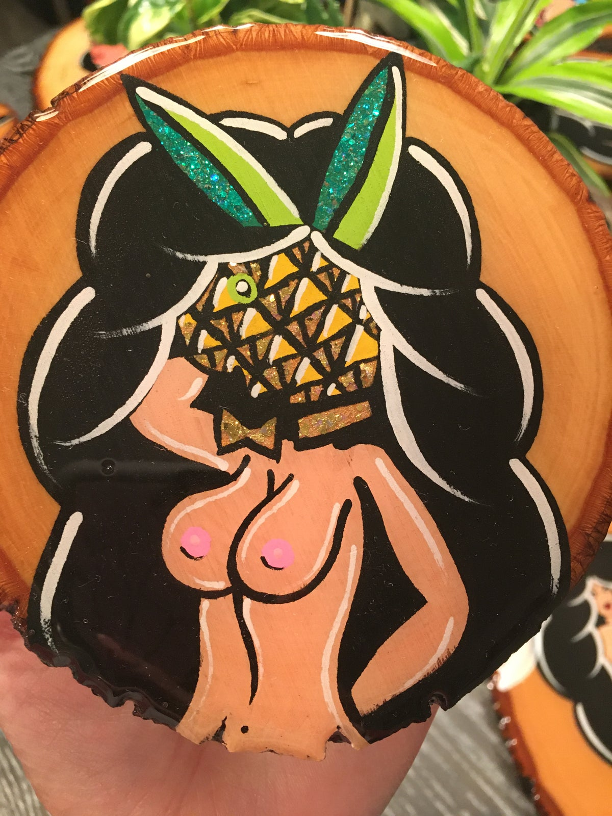 Image of Pineapple lady