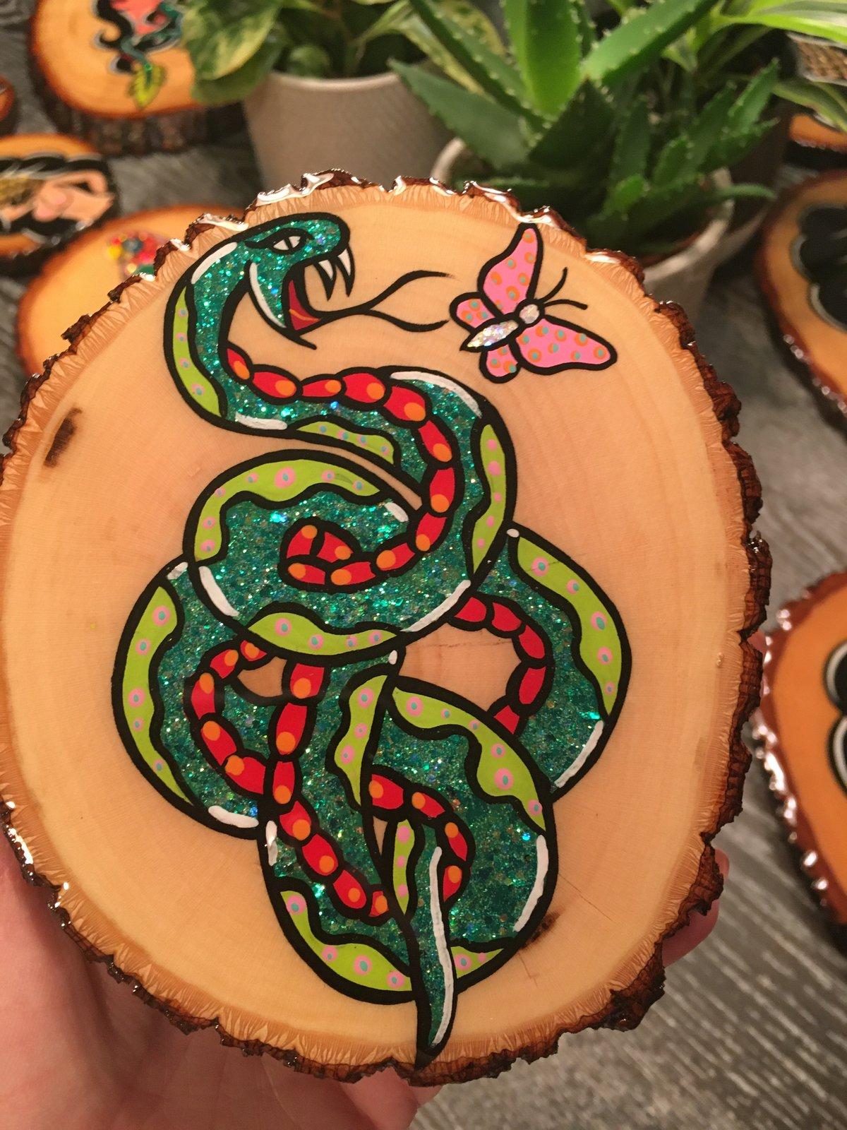 Image of Snake n flutter