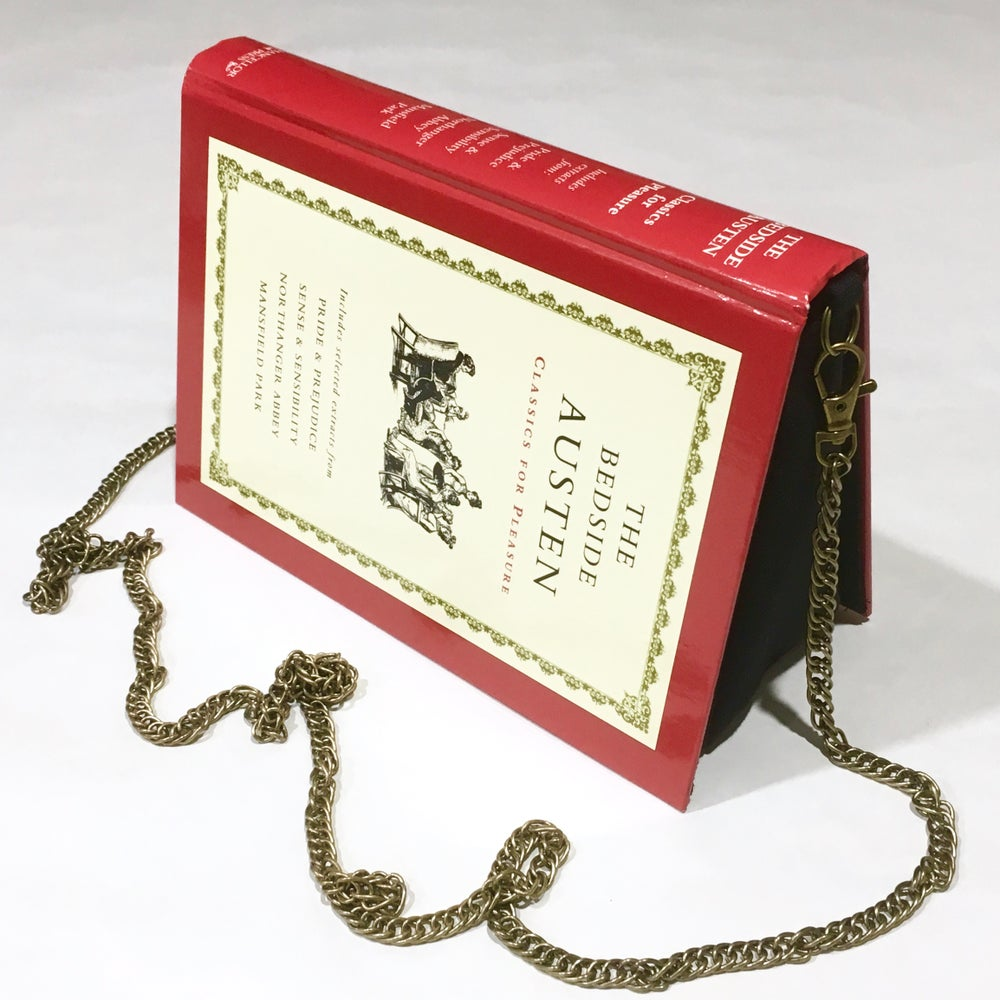 Image of Jane Austen Book Purse - The Bedside Austen