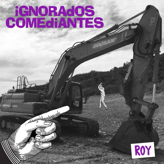 Image of Ignorados Comediantes - Roy LP