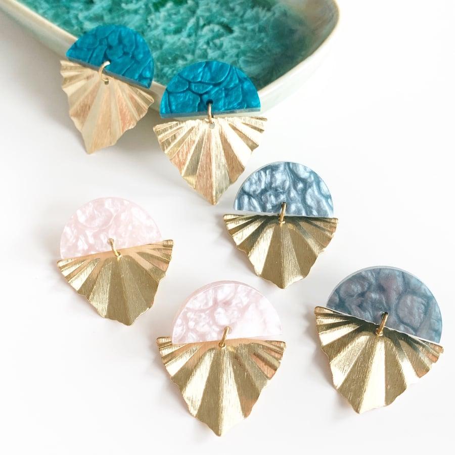 Image of Petite Arrow Earrings