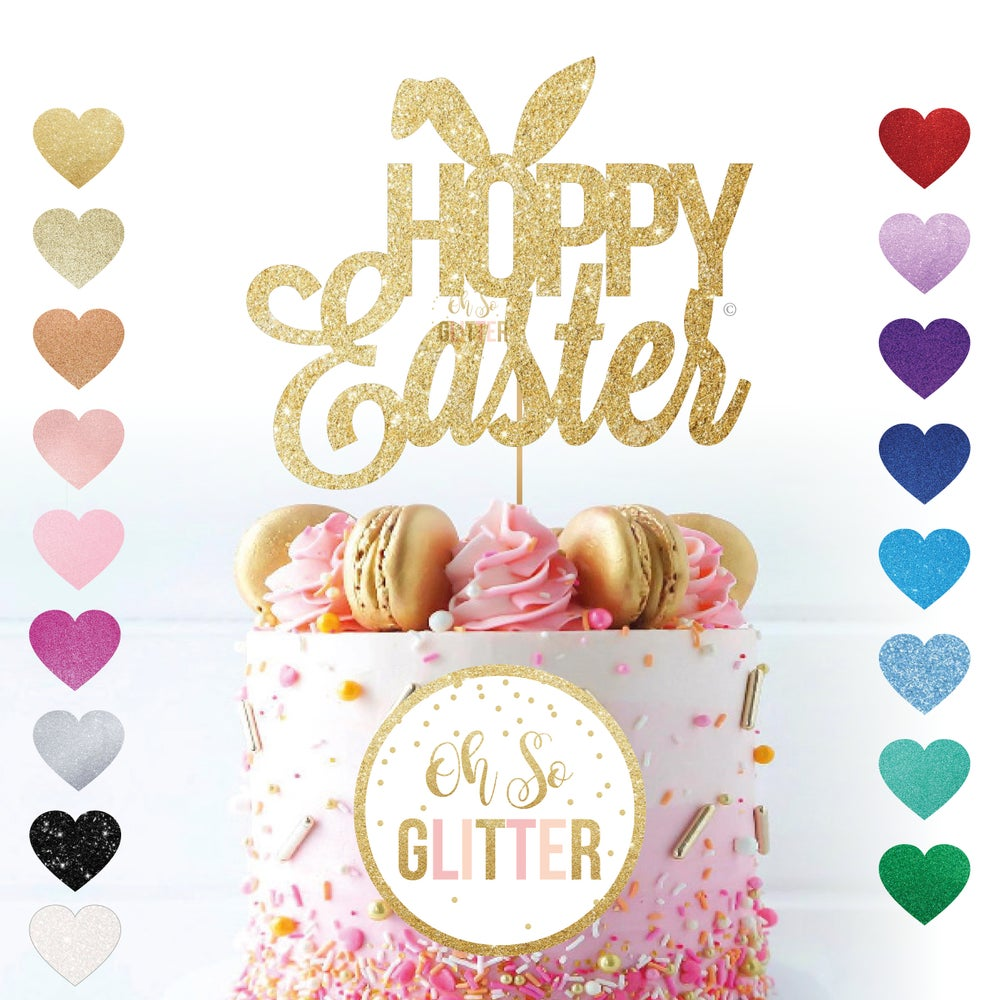 Image of Hoppy Easter - Cake Topper