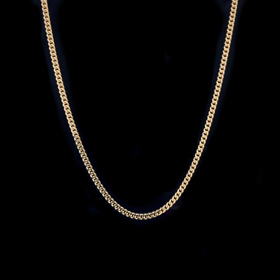 Image of Alba Necklace / Small / 24k gold-coated silver