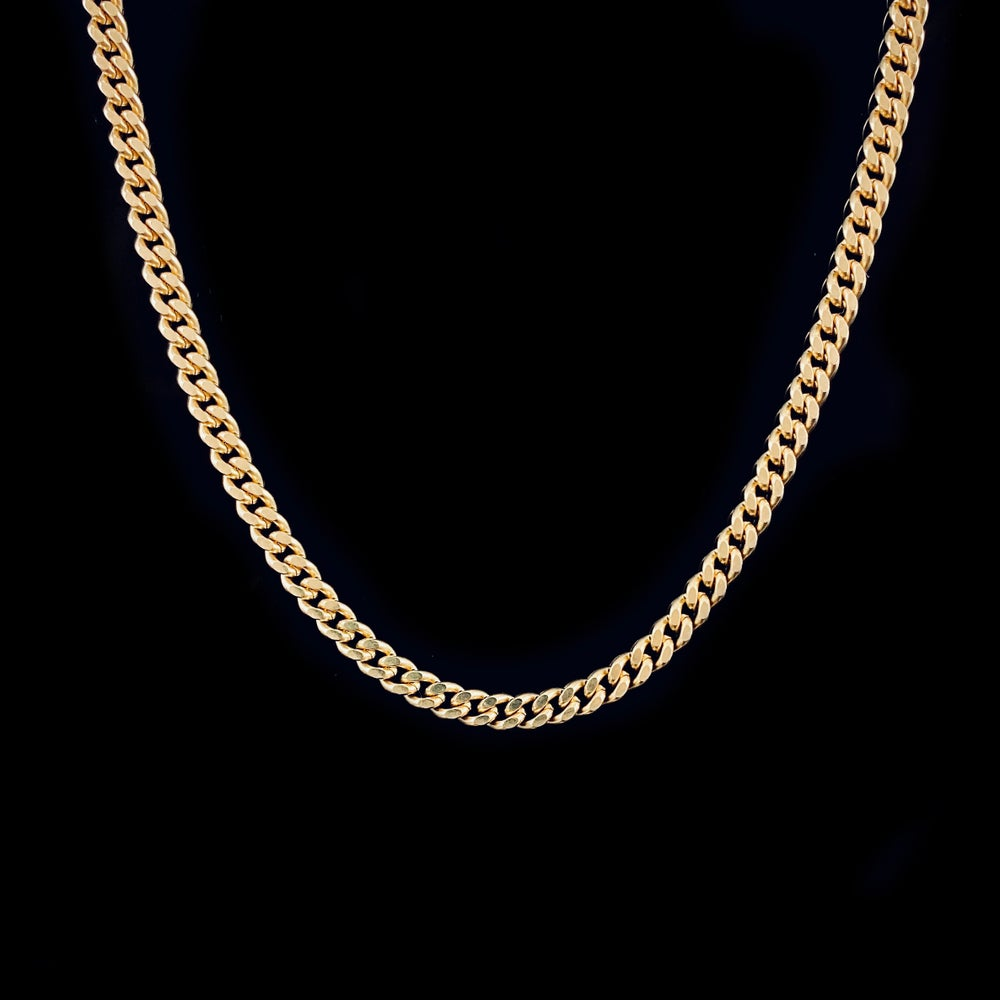 Image of Alba Necklace / Large / 24k gold-coated silver