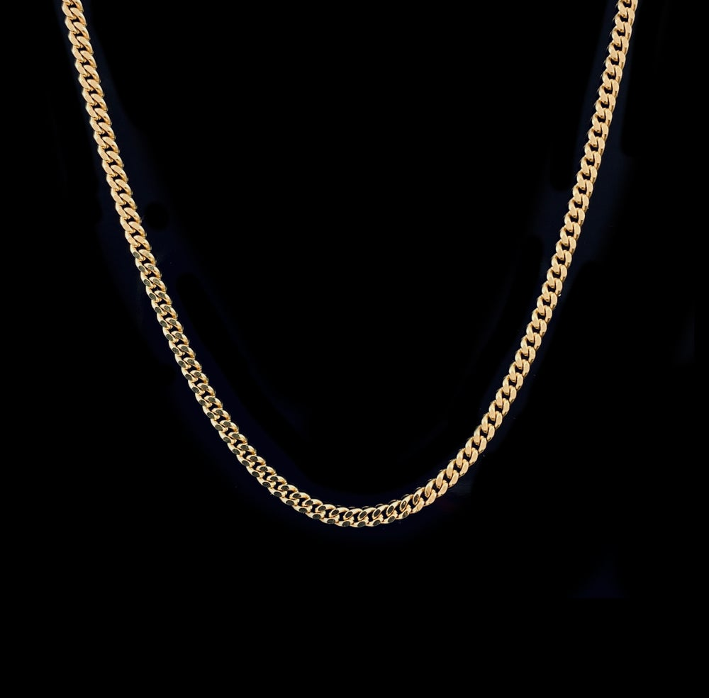 Image of Alba Necklace / Medium / 24k gold-coated silver