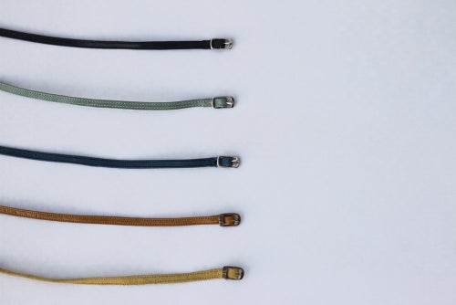 Image of Ankle straps - Pair of handmade straps for ballet flats