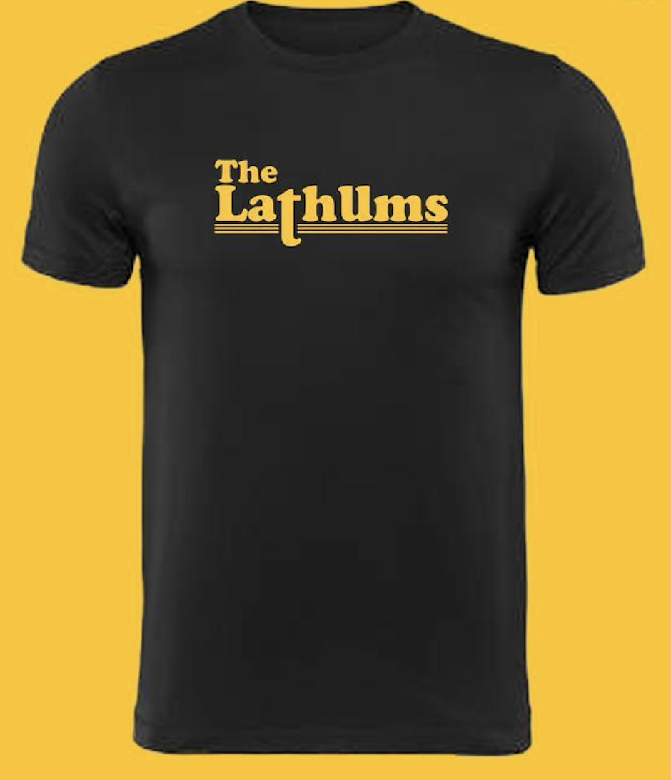 Image of The Lathums T-shirt (Black)