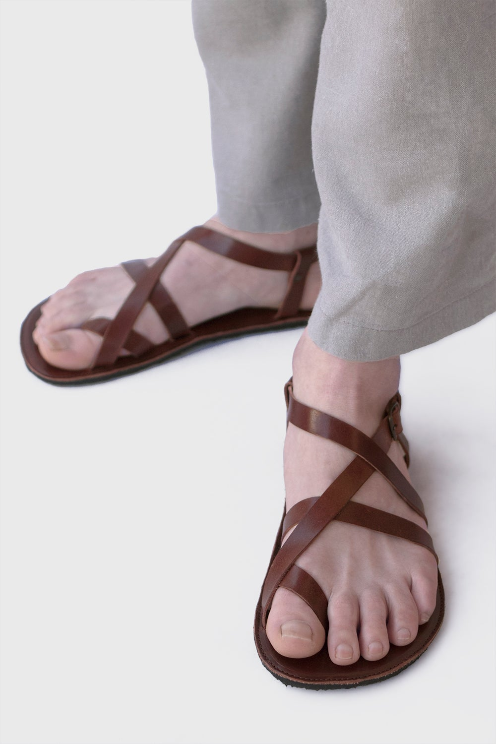Image of Aventuras - Adjustable Sandals in Brown