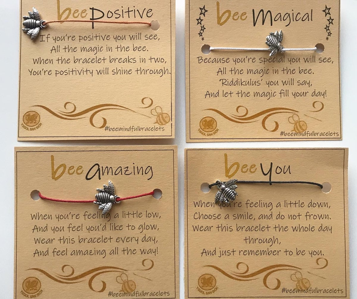 Image of BEE BRACELETS BY BEEMINDFUL BUZZINESS