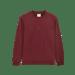 Image of THATBOII antisocialmedia long sleeve - burgundy