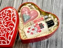 Heart Tin Gift Set