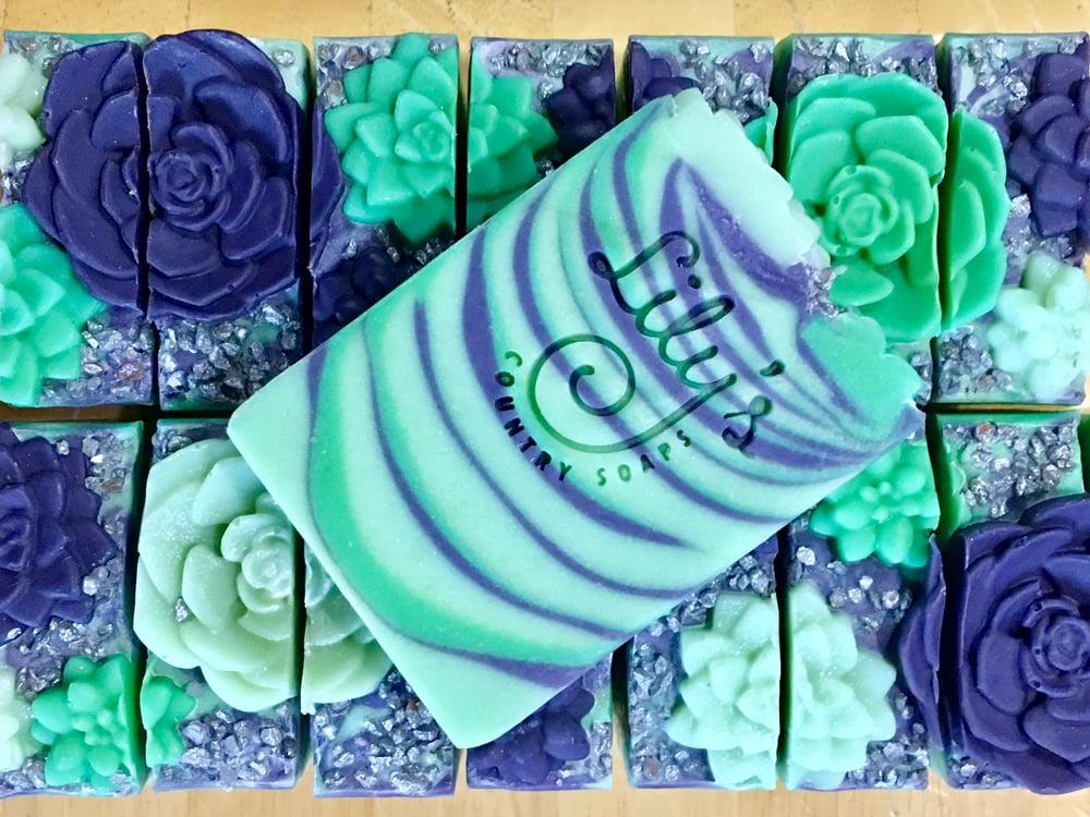 Image of Succulent Garden Goat Milk Soap