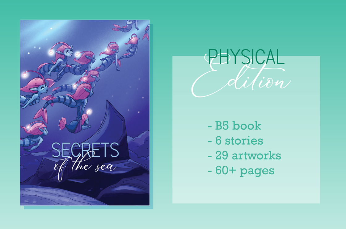 Image of Secrets of the Sea - Physical Zine