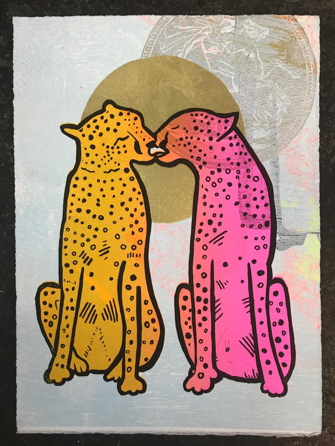 Image of Licky Cats (Colour options)