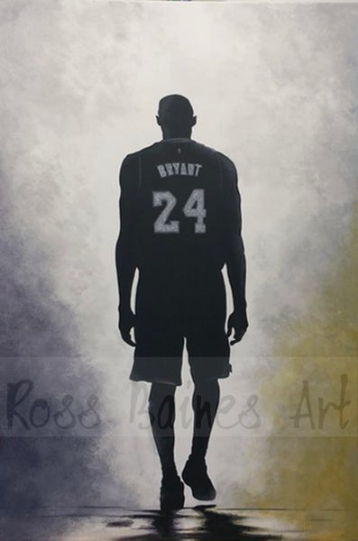 Image of MAMBA OUT (3x2ft canvas print)