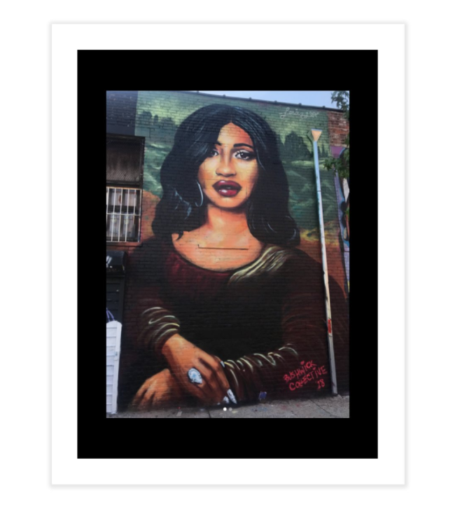 Image of Shmona Lisa Print Large