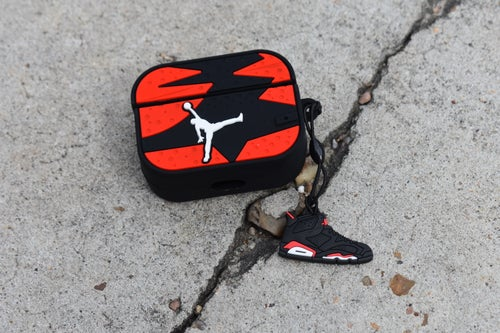 Image of Jumpman 6 Airpod Pro Case Red