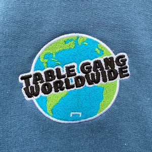 Image of Table Gang Worldwide Tee