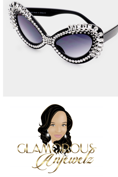 Image of Large Mystic Bling Sunglasses