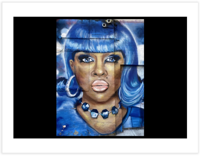 Image of Lil Kim Print Large