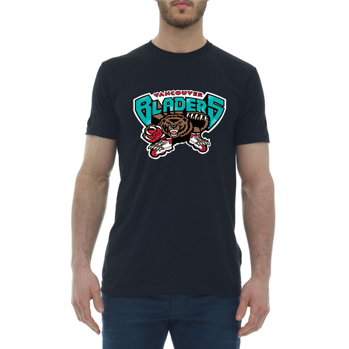 Image of Vancouver Bladers T-Shirt - Chuck Bailey Black