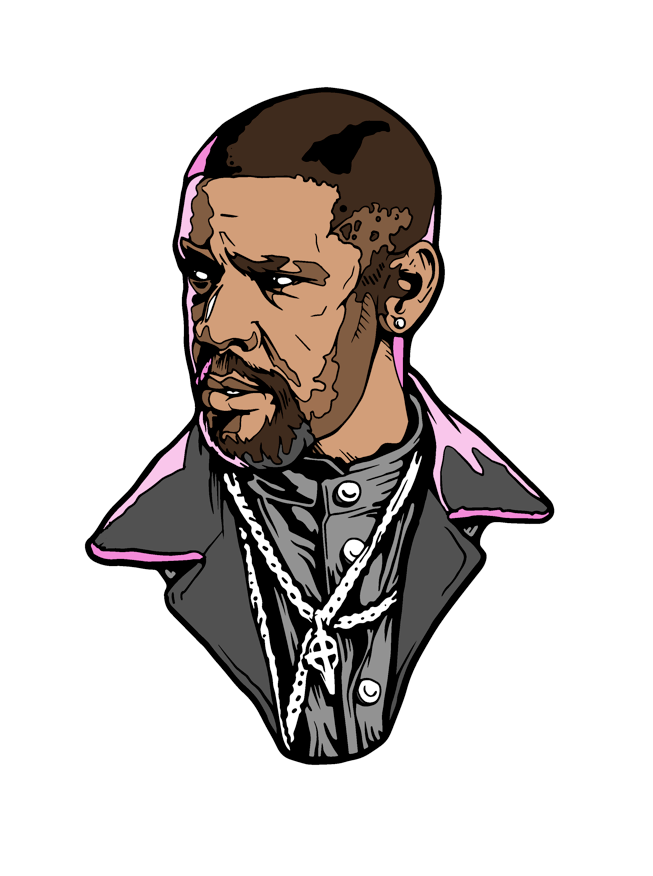 Image of Alonzo Harris by DeathStyle Art
