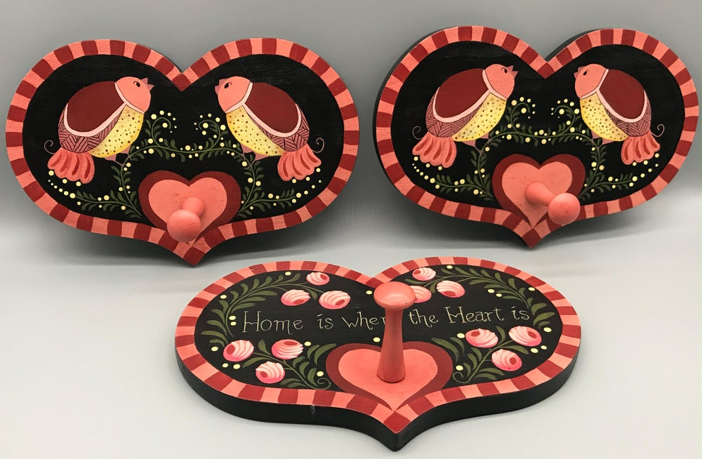 Image of Heart Wall Plaque Trio