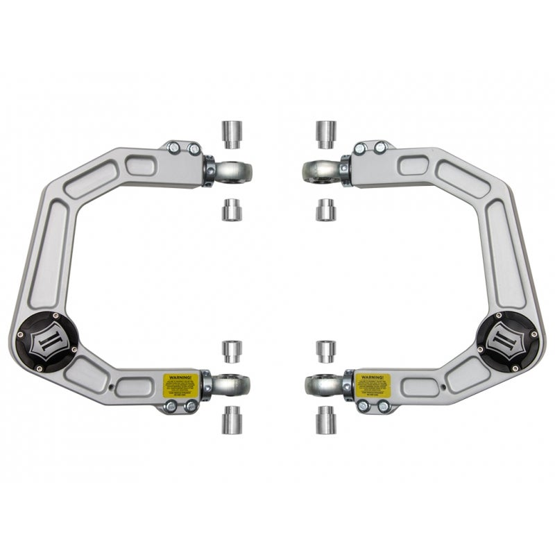 Image of ICON 2003-UP Toyota 4Runner Delta Joint Billet Upper Control Arm Kit