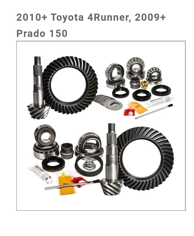 Image of Nitro Gear Package - 2010+ Toyota 4Runner, 2009+ Prado 150 2010-2014 FJ Cruiser, E-Lock