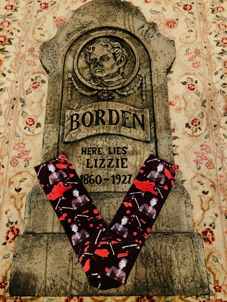 Image of Lizzie Borden 40 Whacks - Socks