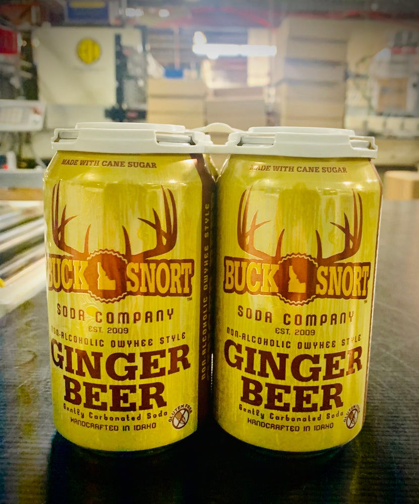 Image of 4 pack Non Alcoholic Owyhee Style Ginger Beer