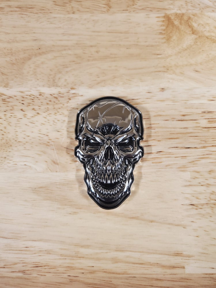 Image of 3D Metal Skinz Logo/UNMASKED