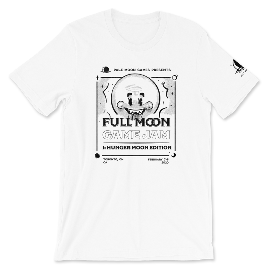 Image of Full Moon Game Jam T-Shirt