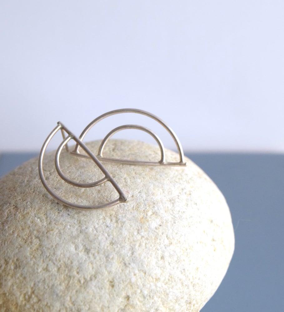 Image of Half Moon earrings