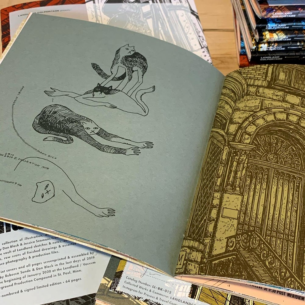 """Islandlike Inlandites, pt 1"" • Ltd. Edition Book of Landland Process Artifacts"