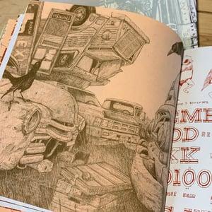 "Image of ""Islandlike Inlandites, pt 1"" • Ltd. Edition Book of Landland Process Artifacts"