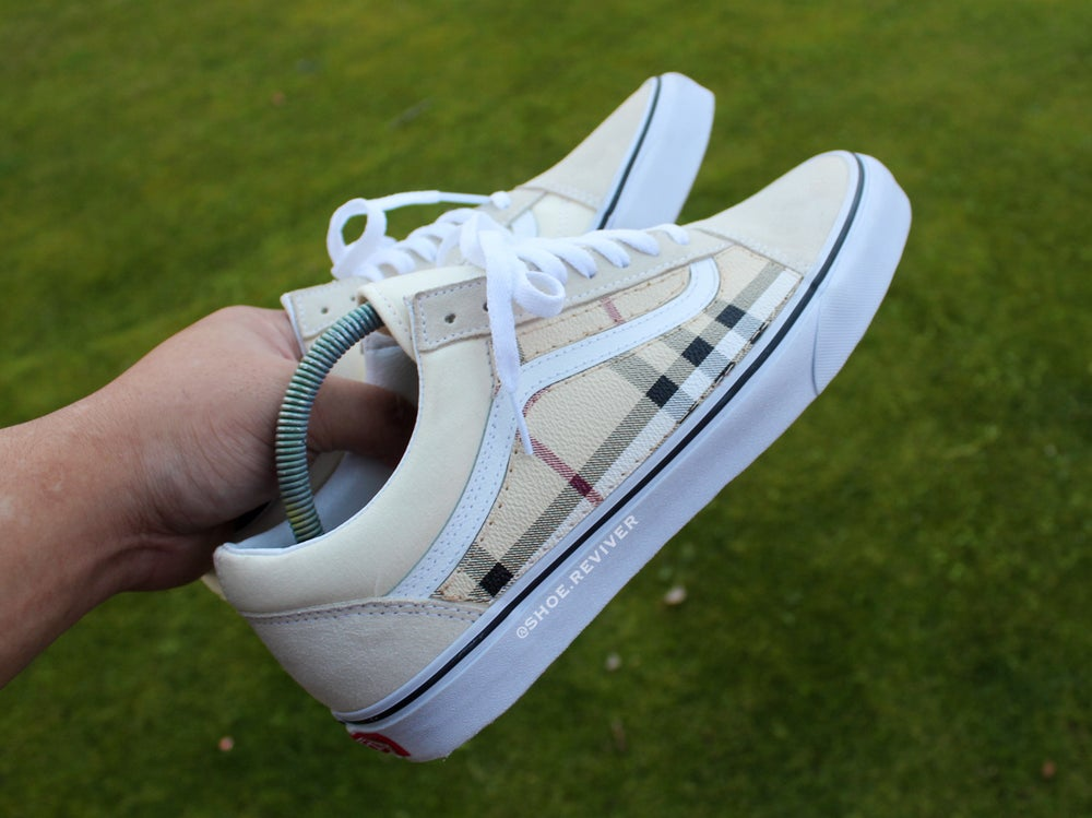 Image of Cream BB Old Skool Lows