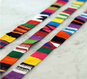 Image of Ceinture / Bandeau Multicolore - Unisexe