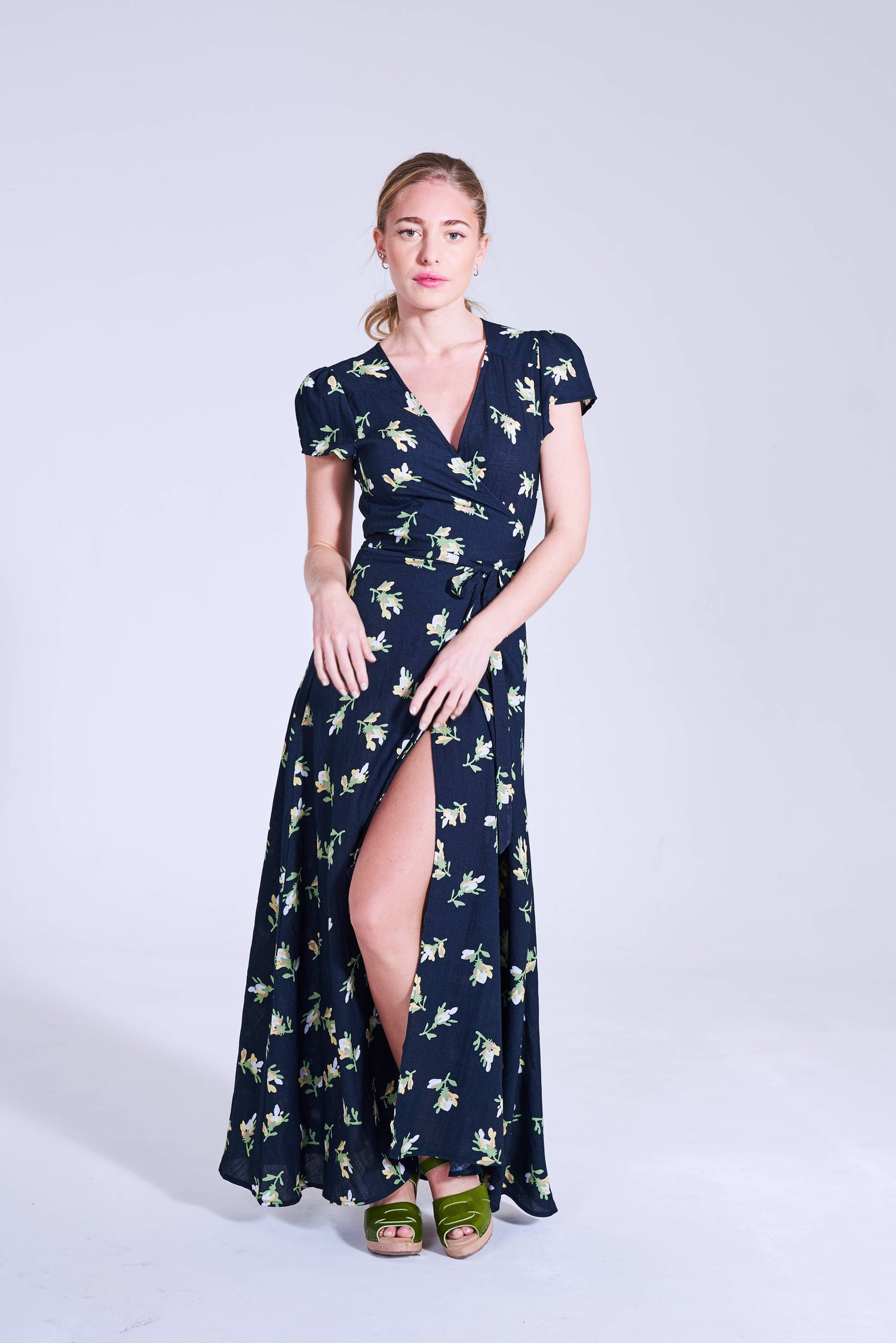 Image of Vestido Largo Antigua Dark