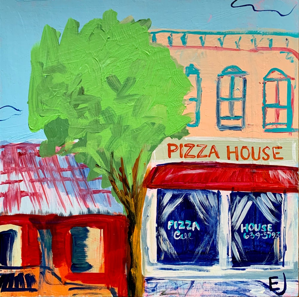 "Image of ""Pizza House, West Radford"" Commission"