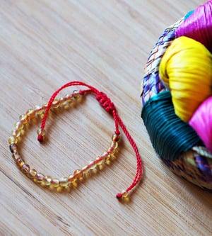 Image of Bracelets Femmes/Enfants/Bébés - Ambre Jaune ou Rouge